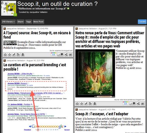 foto de Scoop.it, un outil de curation - Doc pour docs
